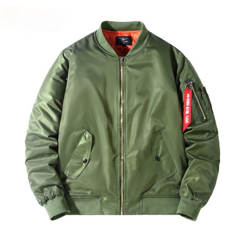 Куртка-бомбер мужская, Повседневная Уличная одежда, пальто, куртка-бомбер в простом британском стиле