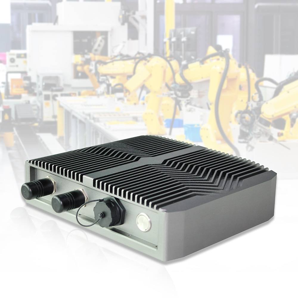 industrial fanless mini pc waterproof ip68 Intel Celeron J1900 4GB DDR4 120G SSD RS232 USB RJ45 for Win7/8/10,Linux