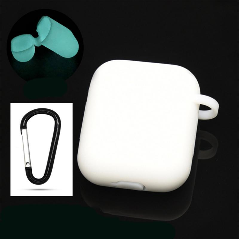 Mini Soft Silicone Case For Apple Airpods 1/2 Shockproof Cover For Apple AirPods 2/1 Earphone Cases For Air Pods Protector Case  - buy with discount