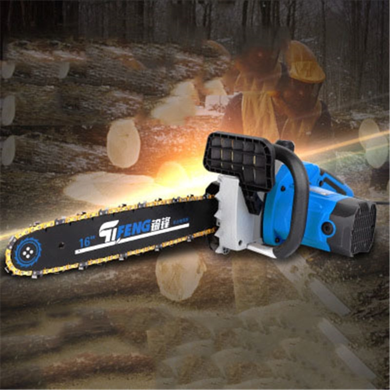 Woodworking Saw Electric Tool Chain Chainsaw Saw Blade 26 mm AC Single Phase and DC 220V Higher Log Fast Cutting Power Household