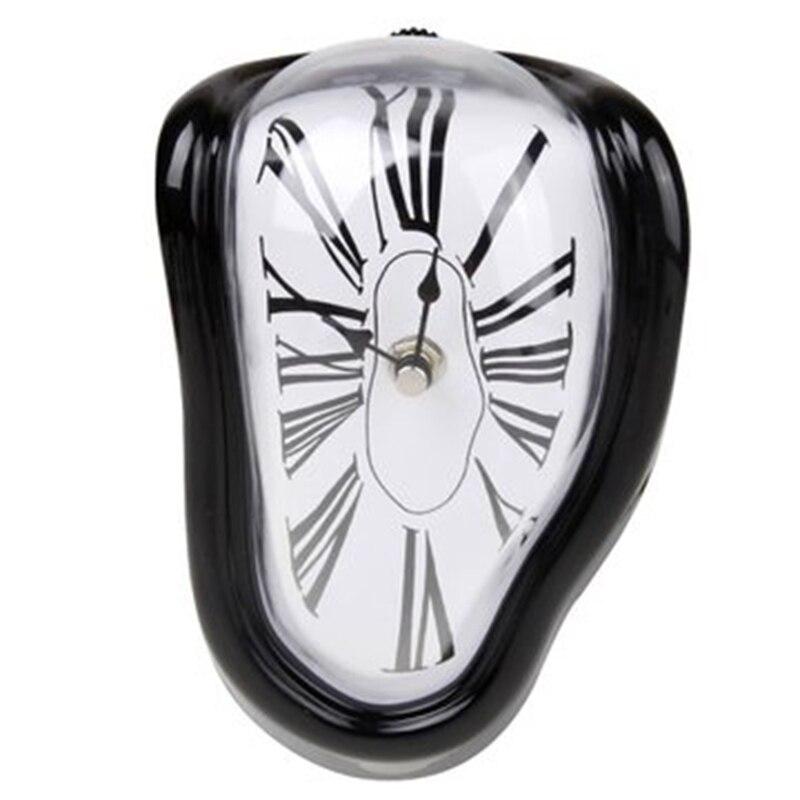 Estudio de dormitorio en casa decorado romano reloj numeral retro trenzado de fusión reloj surrealismo Reloj de pared de regalo