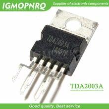 10 pcs tda2003 tda2003a to-220 증폭기 칩 단일 공급 12 v 10 w 증폭기 칩 새로운 원본