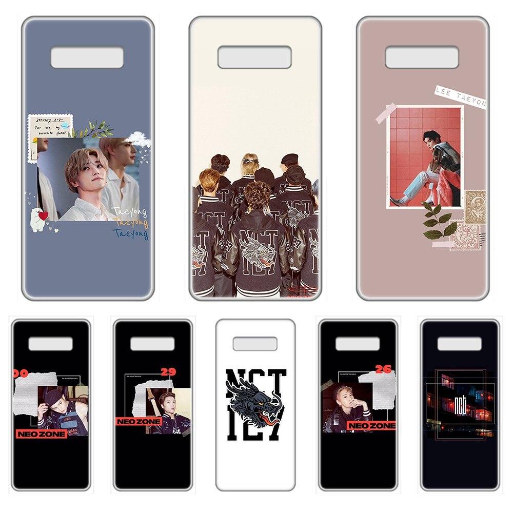 NCT sueño Corea Kpop de primer caso de teléfono transparente para el SamSung Galaxy S 7 8 9 10 11 20 20e 50 51 70 71 Plus Ultra