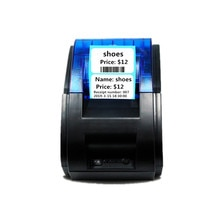 Werese przenośna drukarka termiczna cena kod kreskowy QR kod tag odzieżowy naklejki biżuteria żywności drukarka etykiet Mini USB drukarka bluetooth