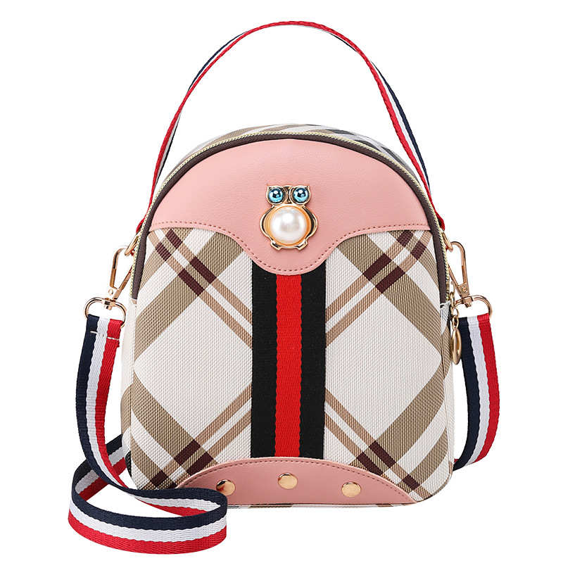 Vento Marea Mini sac à dos sac à bandoulière pour adolescente 2020 rayure femmes épaule téléphone sac à main Style coréen nouveau sac Convertible