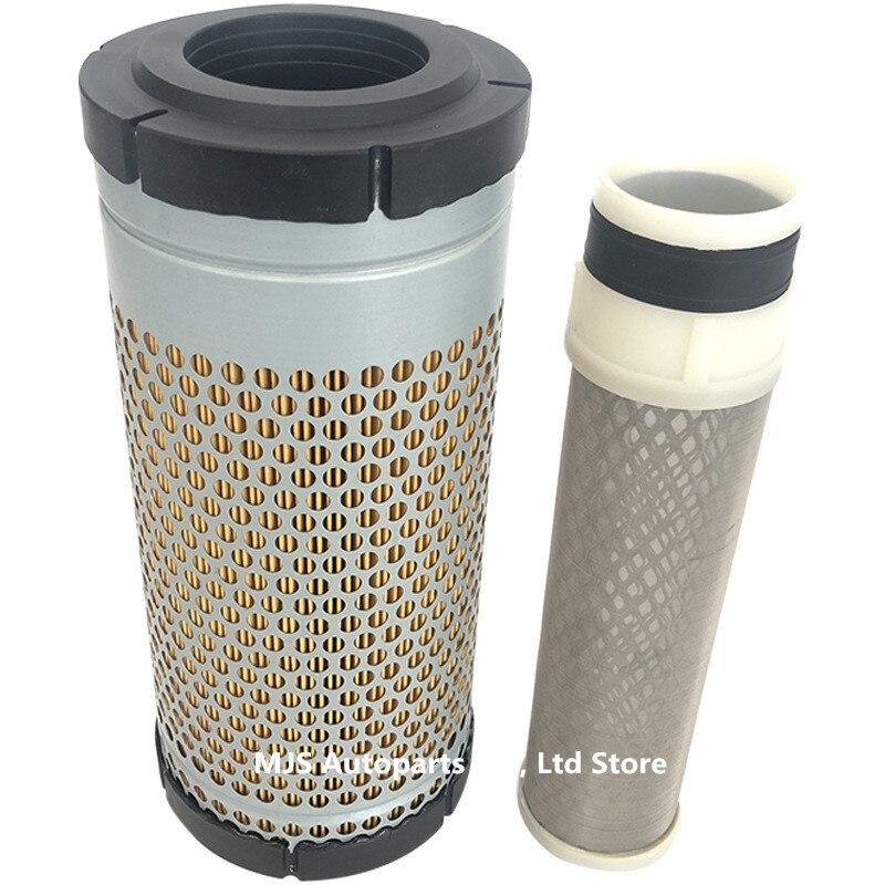 T0270-16321 filtro de ar para kubota j315 j320 gerador u25 30 35 pequena máquina escavadora polpa de madeira cola completa filtro de ar de papel composto