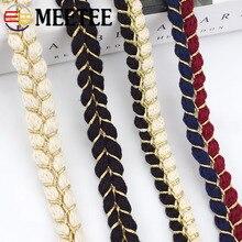 Meetee-ruban en coton tressé   9yards 1.5cm, écharpe à cordes torsadées, bricolage, bijoux vêtements artisanat maison, accessoires de couture, dentelle BD294