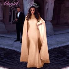 Sexy maille paillettes soirée Clubwear moulante longue robe femmes élégant brillant diamant cape sirène robes Vintage Vestiods
