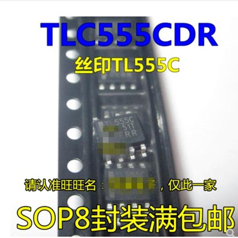 50 Uds TLC555 TLC555CDR TL555C TL555I TLC555IDR SOP8 envío gratis