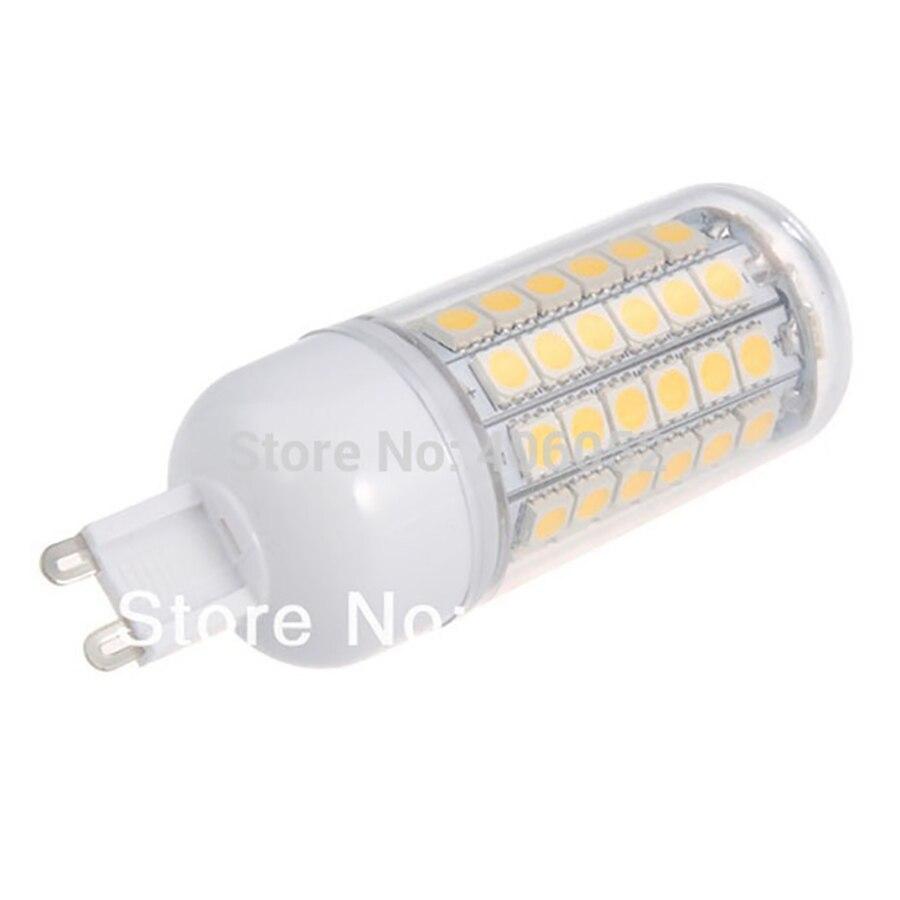 50Pcs/Lot 69leds SMD 5050 E27 12w LED Corn Bulb Light G9 220v Lamp Cool Warm White