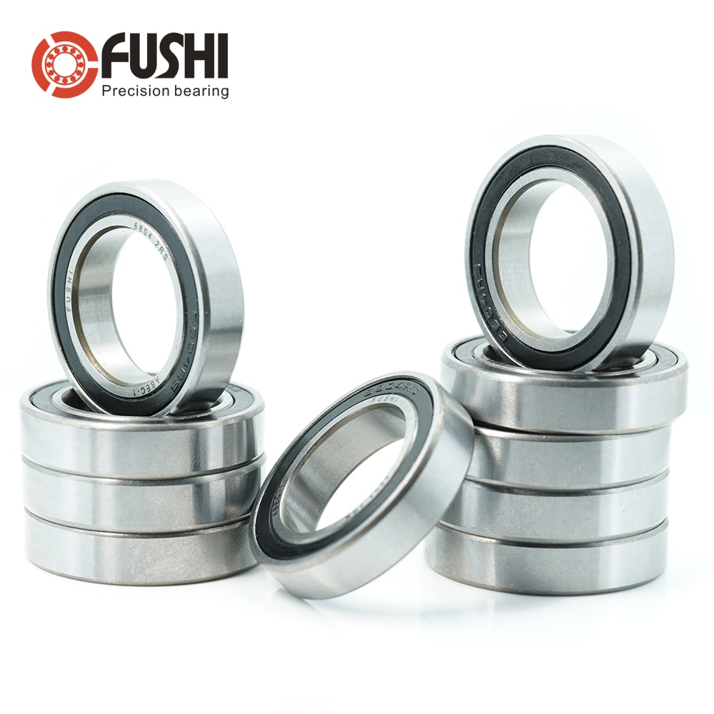 6804rs-bearing-20x32x7-mm-10-pcs-abec-1-metric-thin-section-ball-bearings-6804-2rs