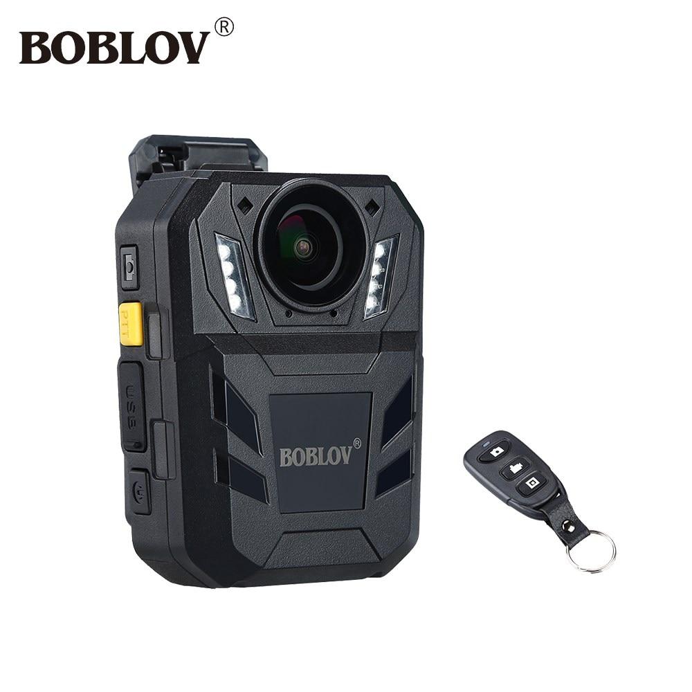 BOBLOV WA7-D الجسم يرتديها الكاميرا 32MP HD 1296P لبس كاميرا DVR مسجل فيديو الأمن كاميرا مع البعيد التحكم الشرطة كاميرا