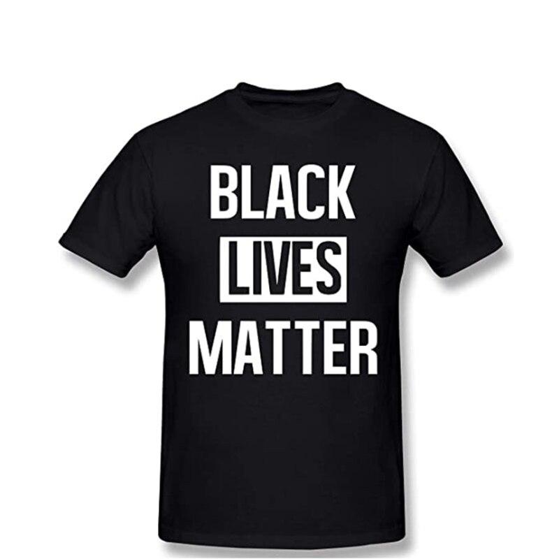 Siyah Lives Matter erkek T Shirt mektup baskılı üst tee Rebel T-shirt Anti-racism mektubu baskı siyah tişört erkekler kadın T-shirt