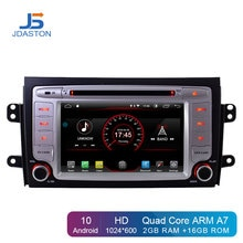 JDASTON lecteur DVD de voiture Android 10   Pour Suzuki SX4, 2006-2013 multimédia, GPS, Navigation 2 Din, autoradio stéréo, Autoaudio, Bluetooth