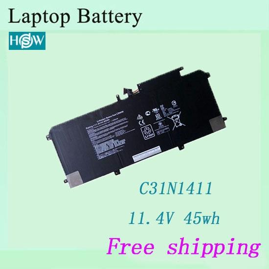 100% batería de ordenador portátil nueva para ASUS C31N1411 U305F U305L U305 batería envío gratis