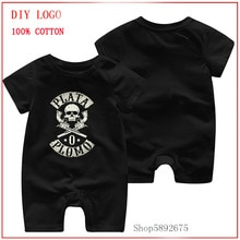 2020 Summer Baby Cartoon plata o plomo skull Style Clothing Babies Toddler's Clothes Cotton Costume