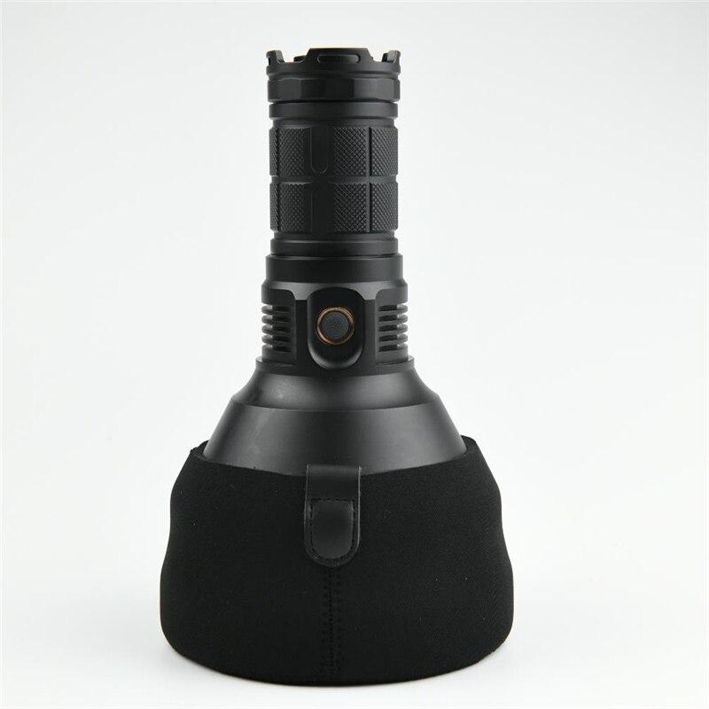 Astrolux mf04 led lanterna cabeça lente de proteção coldre proteger lanterna saco para mf04s lanterna lâmpada tocha acessórios