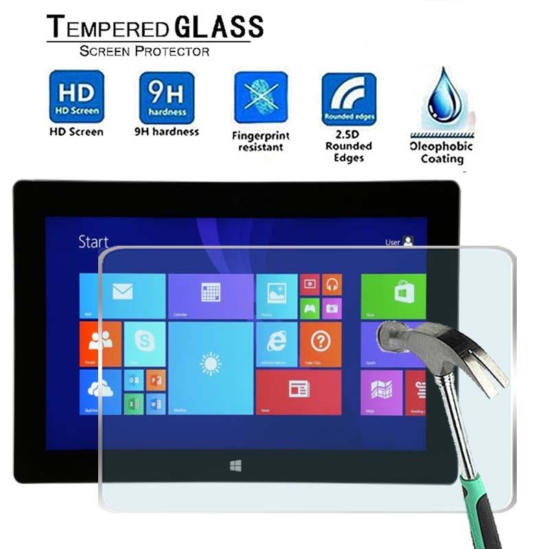 Para Microsoft Surface 2 RT -Premium Tablet 9H Protector de pantalla de vidrio templado Film Protector de cubierta