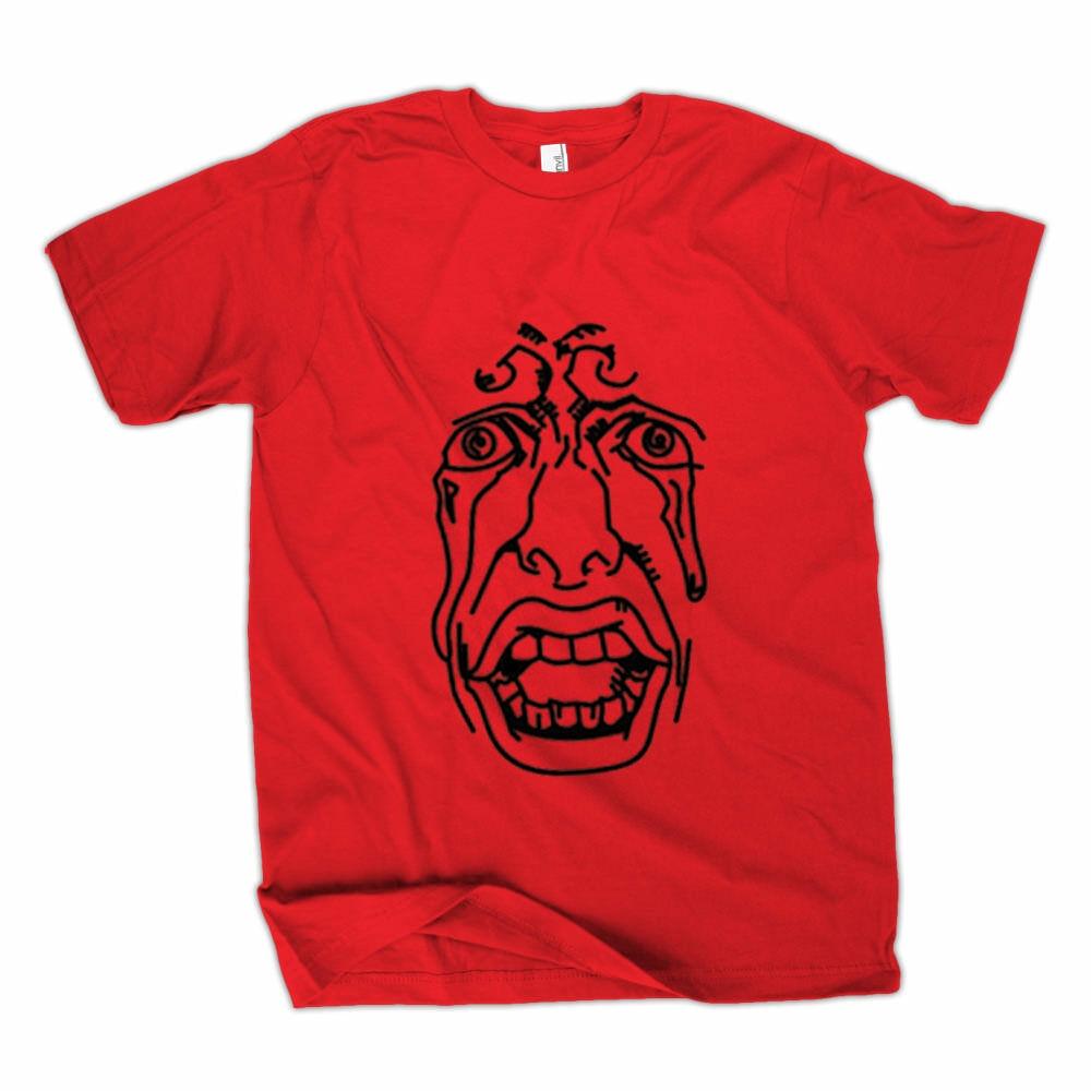 Camiseta Berserk Behelit roja para hombre, camiseta de dibujos animados Unisex, nueva camiseta a la moda, Envío Gratis, camisetas divertidas