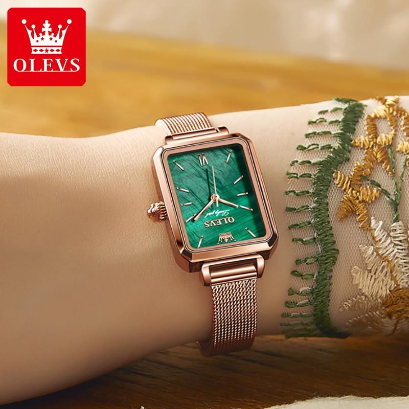 OLEVS Fashion Women's Watches Luxury Brand Relogio Feminino Quartz Wrist Watch For Women Causal Ladi