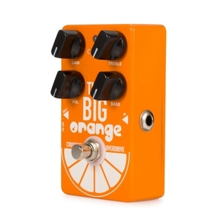 New Caline CP-54 OD Guitar Pedal Overdrive THE BIG ORANGE Crushing Overdrive Guitar Effect Pedal True Bypass Effect