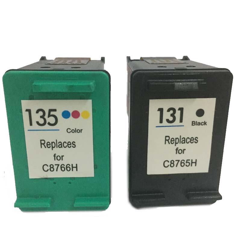 einkshop compativel para hp131 135 cartucho de tinta para impressora hp deskjet 131