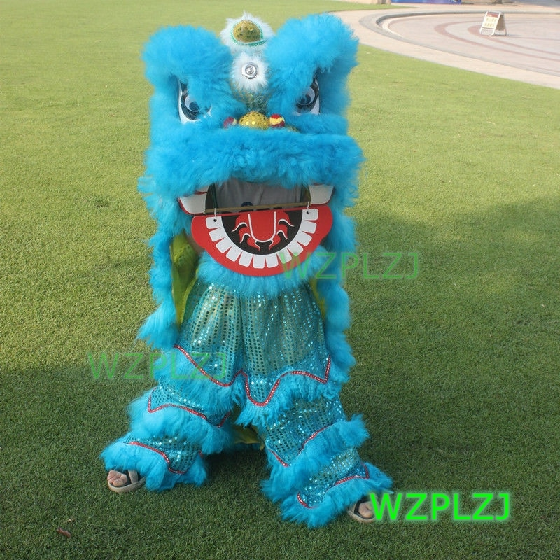 Birthday Costume 14inch Lion Dance Royal  5-12 Age kid Children Halloween Stage Outdoor Party Activities  Festival Parade