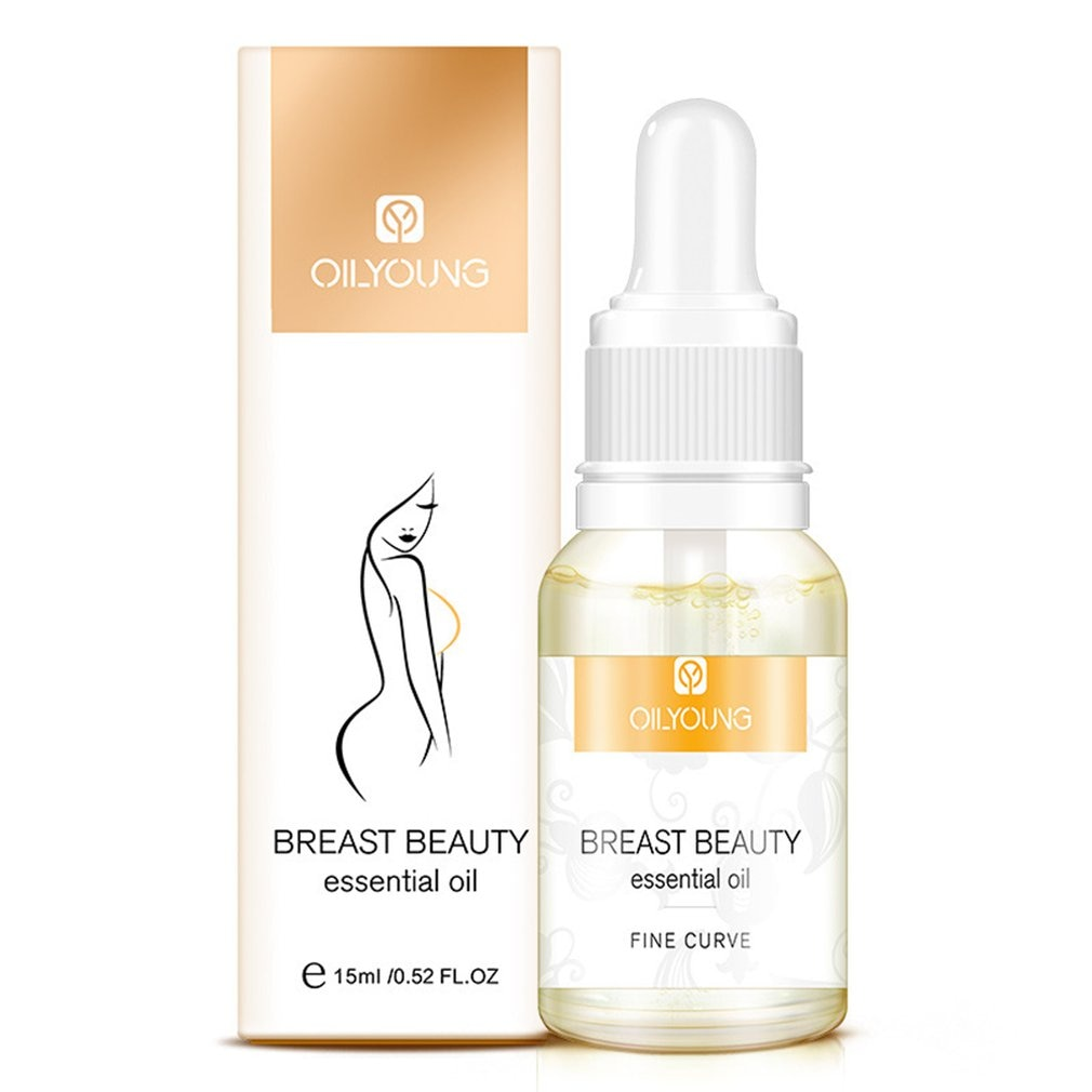 1pcs 15ml Women Powerful Effective Breast Beauty Oil Firming Enlargement Liquid Bust Enhance Massage