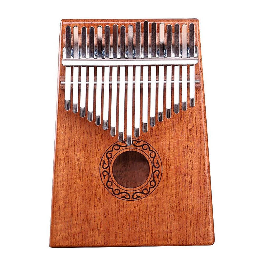 Kalimba 17 Key Mahogany Thumb Piano Mbira Musical Instrument Africa Finger Piano 30key Machine 21 Key Instrumento Musical enlarge