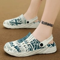 2021 summer mens and womens outdoor sandals slippers home garden kitchen bathroom beach wear resistant eva flat thickness
