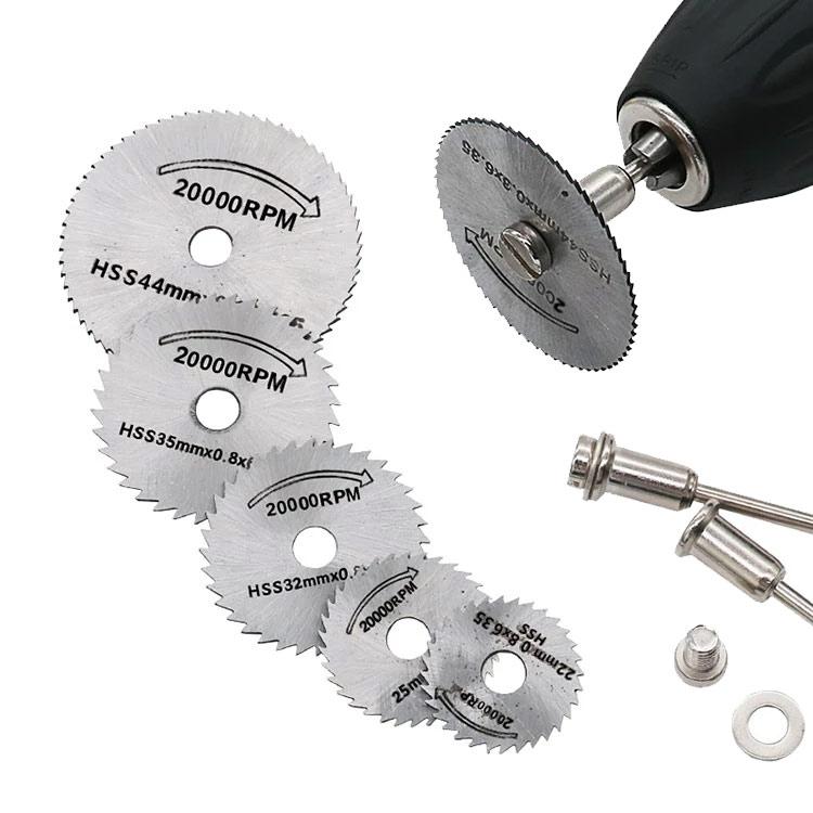 Hoja de sierra Circular HSS de Metal, acero de alta velocidad, para...