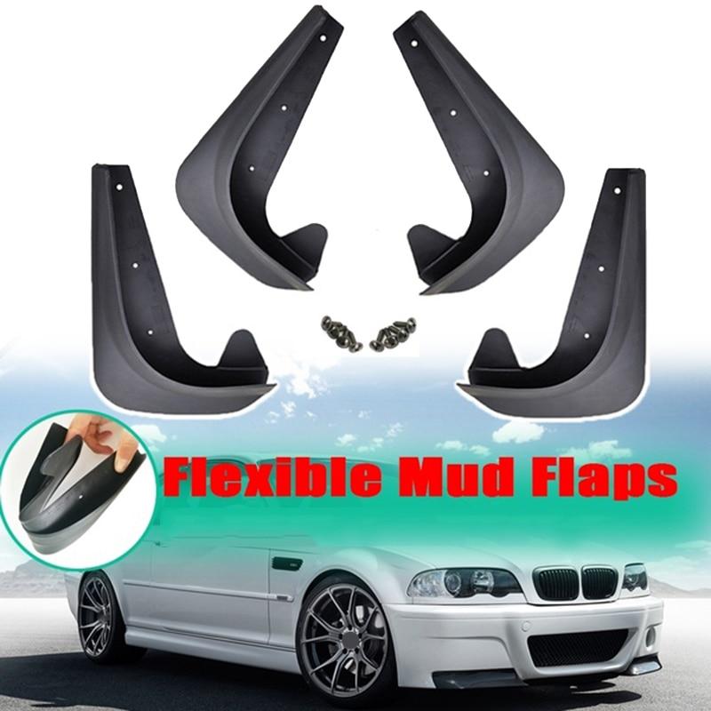 Carro Mud Flaps Respingo Guardas Para Guarda-lamas-BMW 3 5 7 Série E30 E46 E90 E91 E92 E93 E60 F10 F11 G30 E38 E65 F01