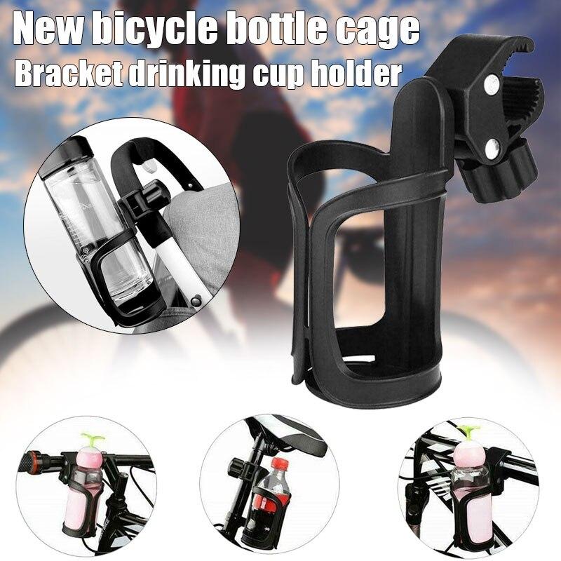 Recém 360 graus de rotação bicicleta garrafa gaiola guiador montar beber água copo titular bn99