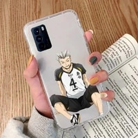 kotaro bokuto haikyuu anime phone case transparent for oppo reno 2 5 z pro gtneo realme q2 gt 11 findx 2 pro realmev 3 5 k7x