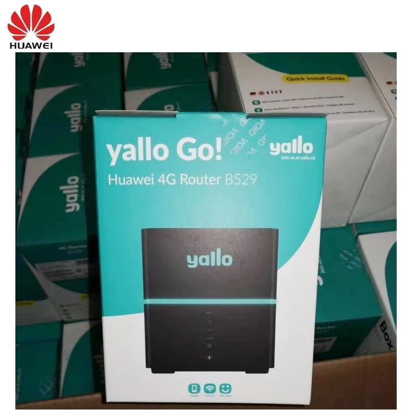 Unlocked Huawei B529S-23A  4G LTE Cube WiFi Hotspot Home wireless Router enlarge