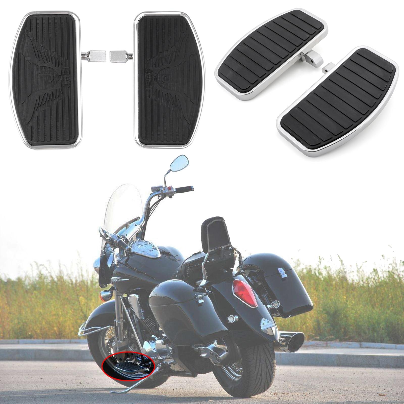 Motorcycle Floorboards For Honda Shadow Aero 750 VT750 For Yamaha VSTAR XVS 400 650 XVS650 Drag Star 600 Virago XV250 Accessory