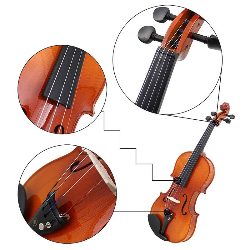 4 pcs/set German Pirastro Tonica Violin Strings Set Ball End A, E, G, D, a Set Violino String For 3/4 4/4 Violin