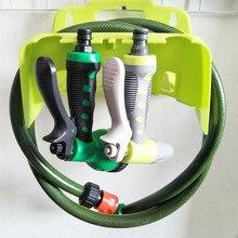 Support de tuyau de jardin mural vert Portable, support de rangement, clôture de hangar, support de tuyau de câble, étagère, accessoires