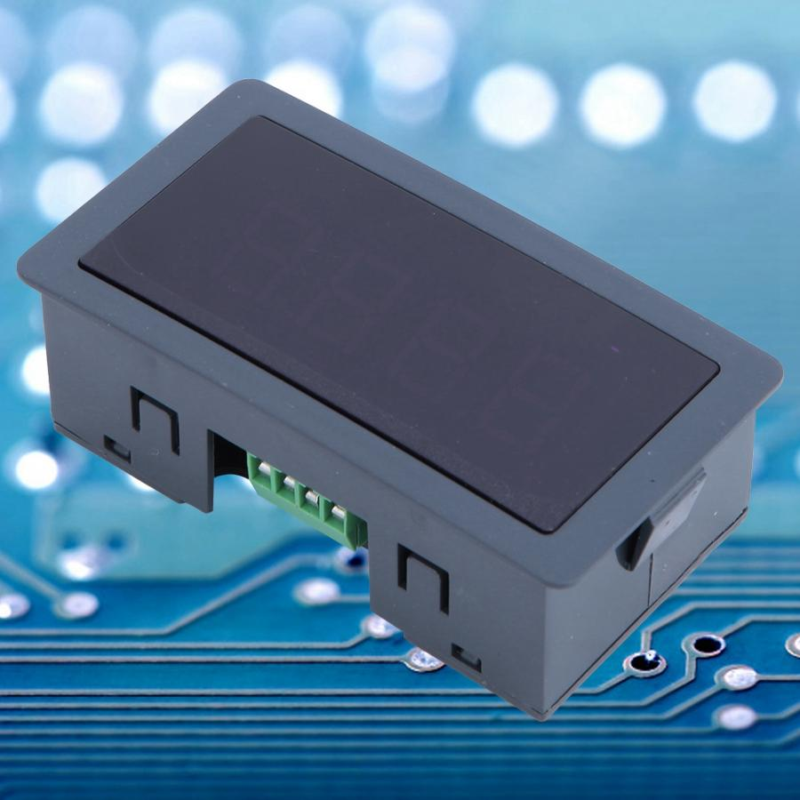 Píxeles led 0,56 en 4 dígitos pantalla LED RS485 puerto serie medidor comunicación RTU/ASCII módulo Protocal led