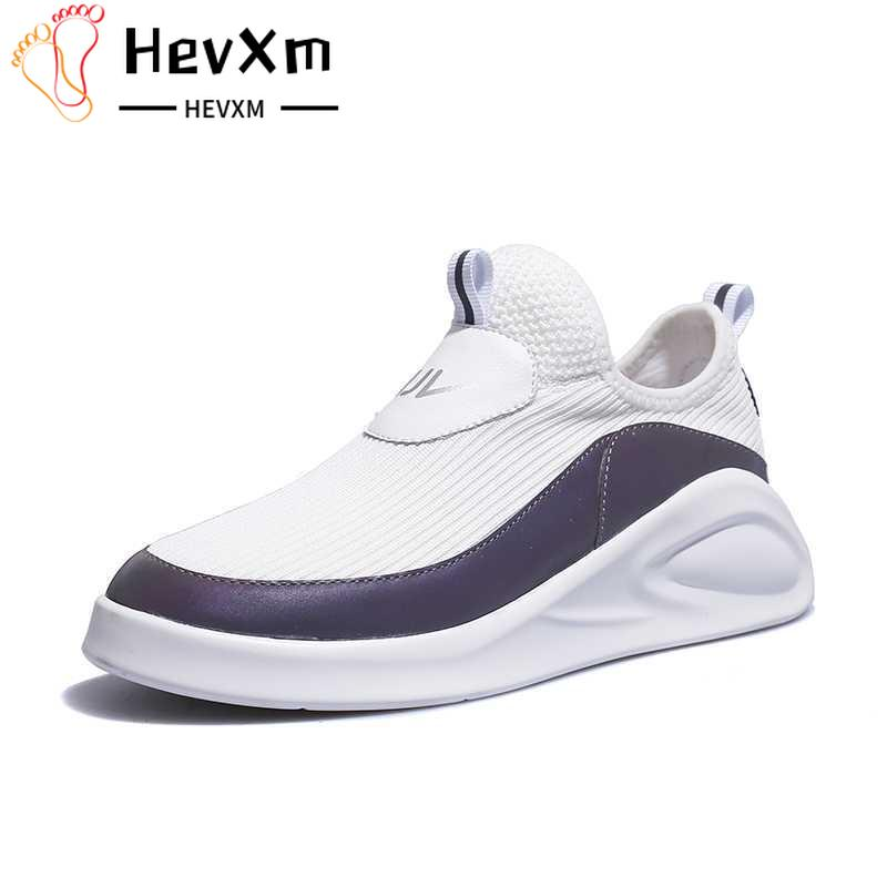 Sneakers Women Slip-on Platform Shoes Flats Soft Walking Shoes Woman Comfortable Lightweight White Shoe Female Chaussures Femme