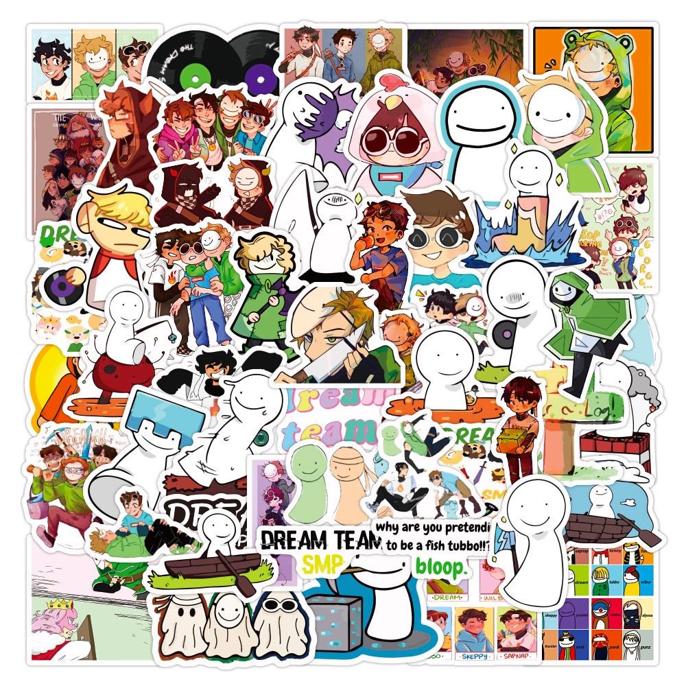 AliExpress - 10/30/50PCS Anime Dream Smp Graffiti Stickers DIY Travel Luggage Guitar Fridge Laptop Waterproof Cartoon Sticker Decal for Kids