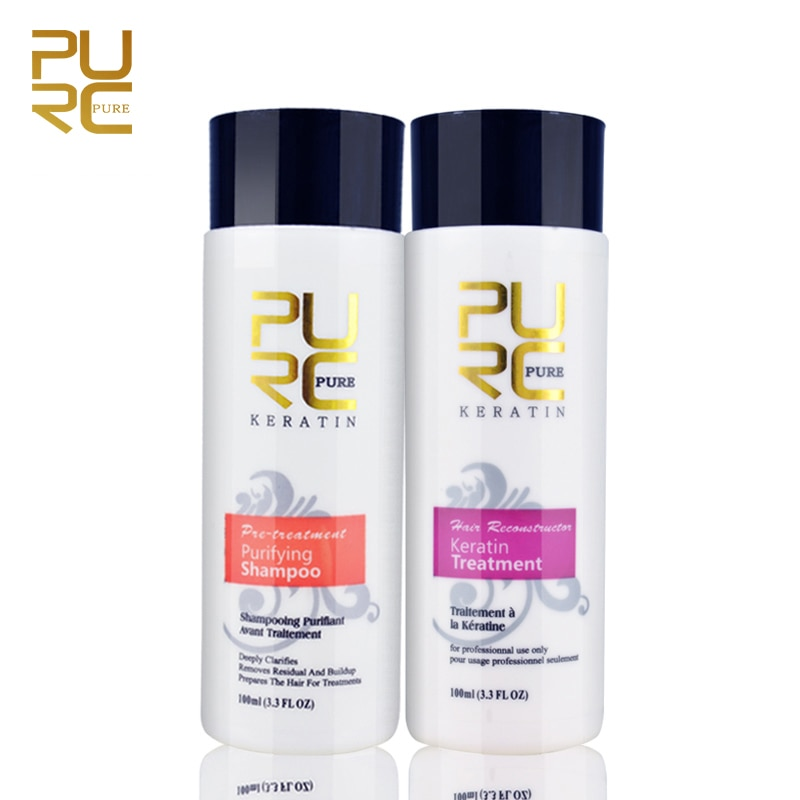 Atacado clareamento shampoo para cutícula aberta suave tratamento de cabelo queratina tratamento de reparação de cabelo 5% alisador cabelo