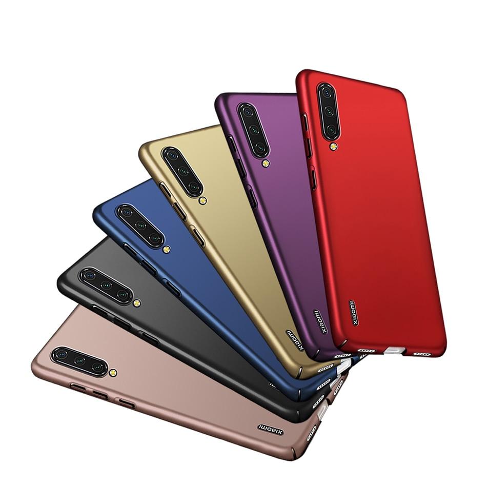 Funda de teléfono Ultra delgada dura mate para Xiaomi mi CC9 CC9mt Meitu Edition para Xiaomi mi CC9E CC 9 cc9E cubierta trasera parachoques