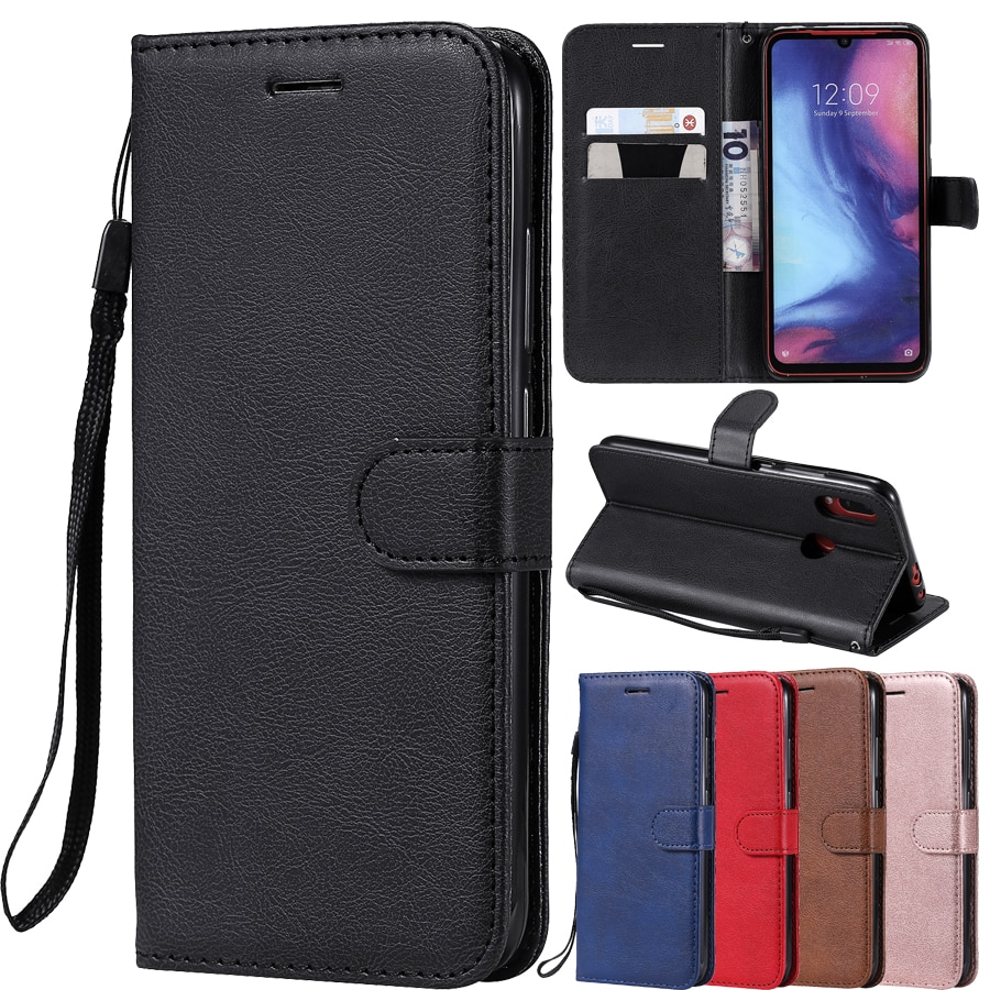 PU Leather Flip Wallet Case For Huawei P40 P30 P20 Pro P10 P9 P8 Lite 2017 P Smart 2019 Y5 Y6 Y7 Pri