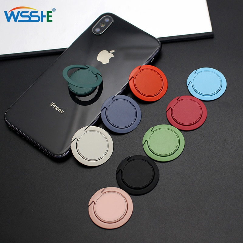 aliexpress.com - Extremely Thin Luxury  Mobile Phone Socket Holder Universal Telephone Car Bracket Stand Accessories Finger Ring For iphone XS 8