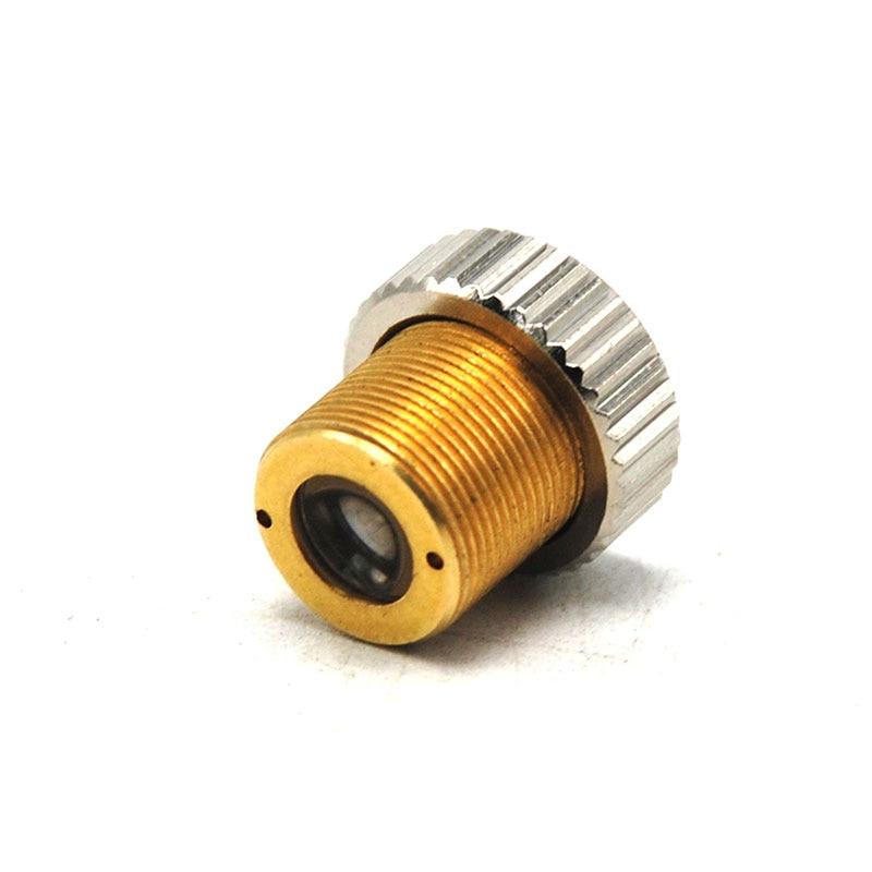 G-2 405 нм 450 нм синий лазер диод точка фокус линза коллиматор стекло покрытие коллиматор линза держатель M9% 2A0.5
