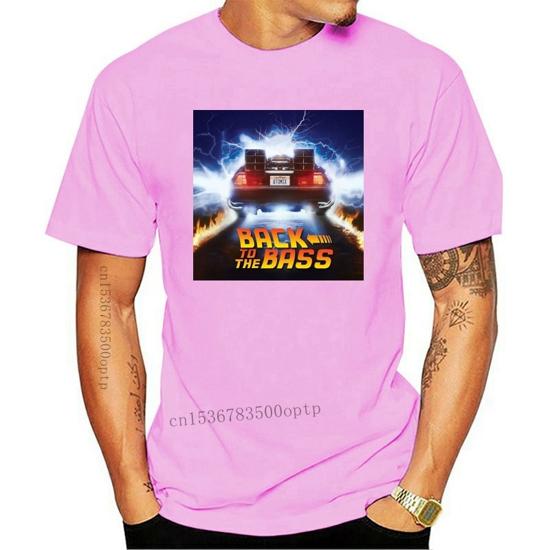 New T shirt back to the Future Short Sleeve Original-Back to the Future drawing