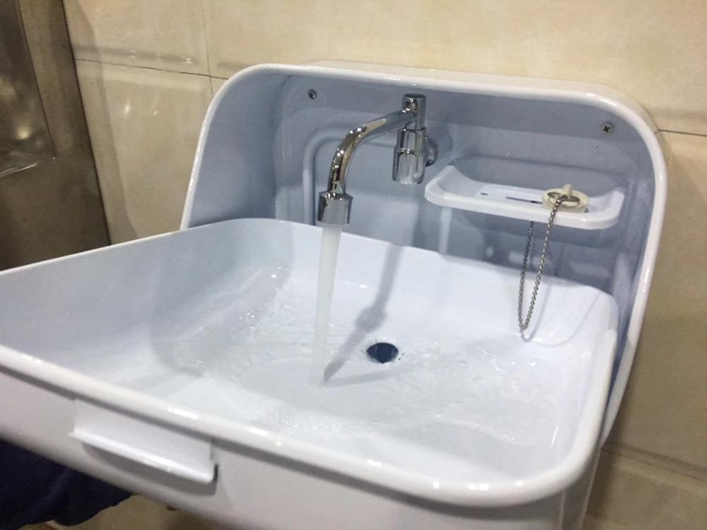 RV Hand Wash Basin Folding Sink Integrated Faucet Boat yachts van camper trailer Caravan accessories 370*390*180/375mm enlarge