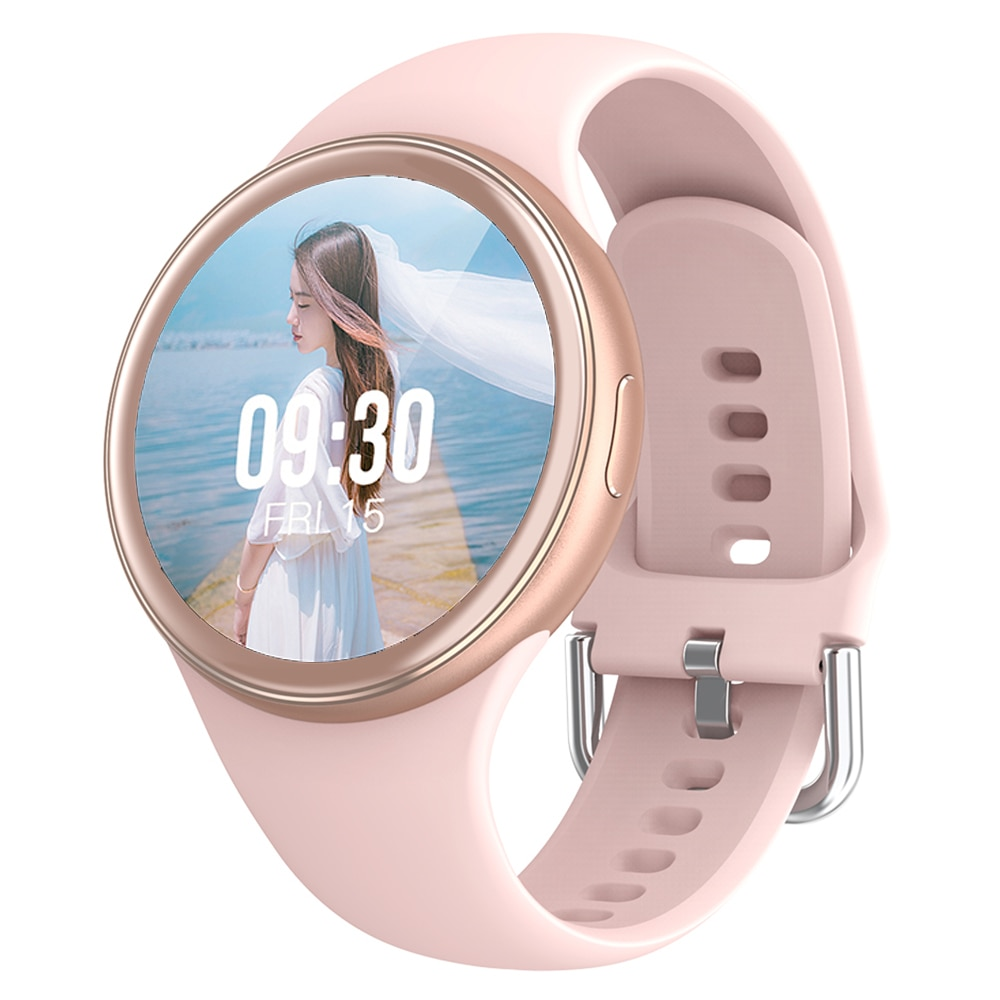 Women Smartwatch 2021 DIY Watch Face J2 Smart Watch Full Screen For Lady Heart Rate Blood Pressure IP68 Waterproof Android iOS