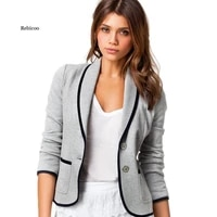 womens small suit foreign trade casual wild all match thin european and american temperament jacket female spring